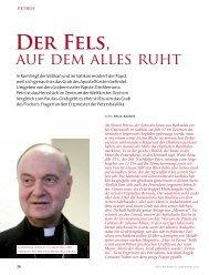 dieser Artikel in voller Länge - Vatican magazin ::: Schönheit und ...