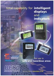 Total capability for intelligent displays and ... - BEKA Associates