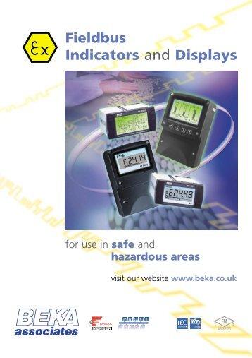 Fieldbus Indicators and Displays - BEKA Associates