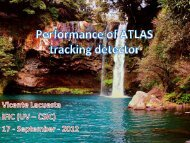 Performance of ATLAS Tracking Detector - Indico - CERN