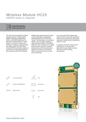 Wireless Module HC25