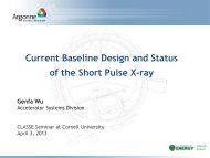 SPX Systems - CLASSE Seminars - Cornell University
