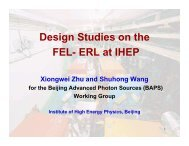 1-Accelerator Activities at IHEP-ppt