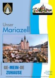 Ausgabe Dezember 2011 - Stadt Mariazell