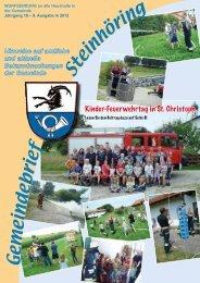 September 2012 - Gemeinde Steinhöring