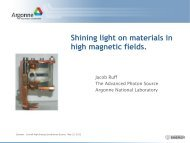 Shining light on materials in high magnetic fields.