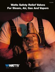 Watts Safety Relief Valves For Steam, Air, Gas ... - Clean My Water
