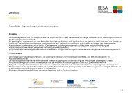 Zielfindung Arbeitsblatt 1 - RESA
