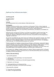 Kaufmann/-frau für Bürokommunikation - RESA