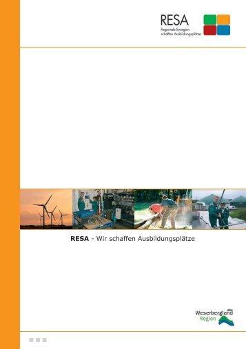 Infoprospekte für Schüler (145 KB) - RESA