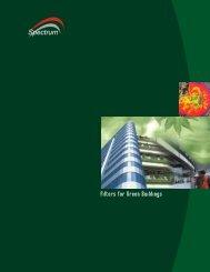 Green Building Brochure - Spectrum Filtration Pvt. Ltd.