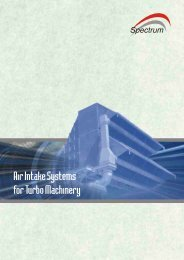 Power Systems Brochure Final Layout - Spectrum Filtration Pvt. Ltd.