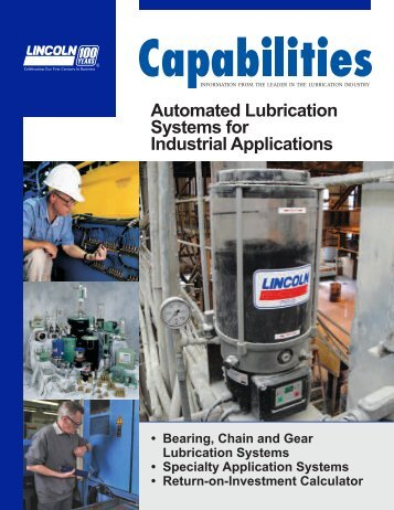 Automated Lubrication Systems for Industrial ... - Lincoln Industrial