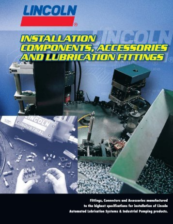 Installation Components, Accessories and ... - Dean Industrial
