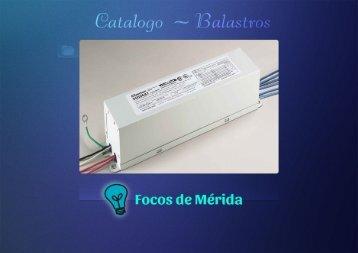 Catalogo Balastros