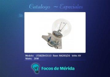 Catalogo Especiales