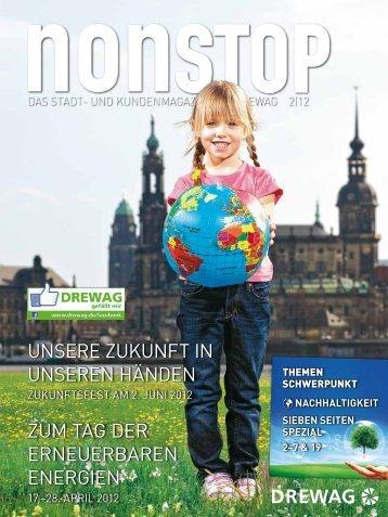 NEUE RUFNUMMERN! Das DREWAG-Magazin