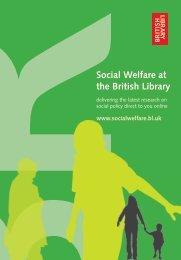 Portal Promotional Leaflet for Higher Education - Social Welfare Portal