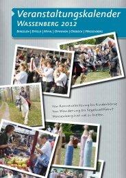 Veranstaltungskalender 2012 - Stadt Wassenberg