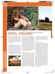 Wanderkarten für Eifel - Ardennen im Maßstab 1 - Eifelsteig