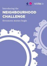NEIGHBOURHOOD CHALLENGE - Nesta