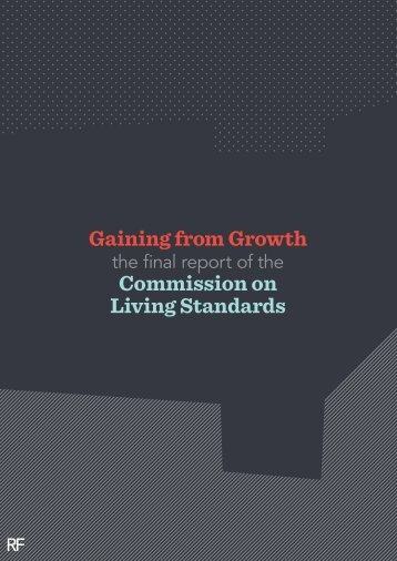 Gaining from growth - Resolution Foundation