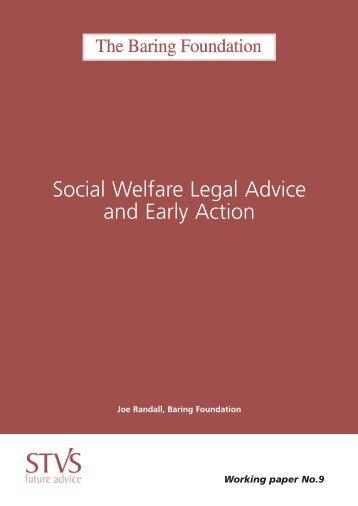 Social Welfare Legal Advice and Early Action - Social Welfare Portal