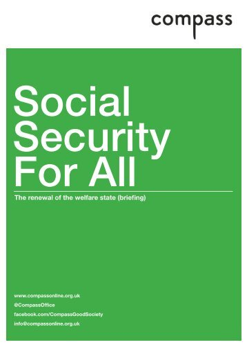 The renewal of the welfare state (briefing) - Social Welfare Portal