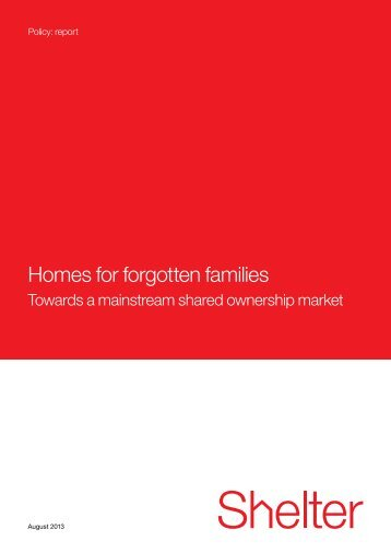 PDF: Homes for forgotten families - Social Welfare Portal
