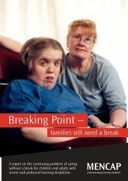 Breaking Point – - Social Welfare Portal