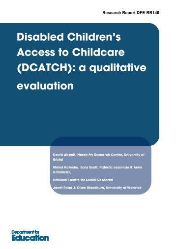 DCATCH - Social Welfare Portal