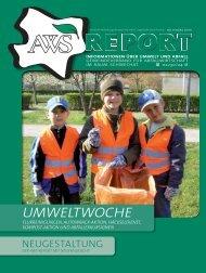 AWS-Report Nr. 1, 2009