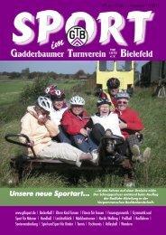 Unsere neue Sportart... - Gadderbaumer Turnverein v. 1878 eV ...