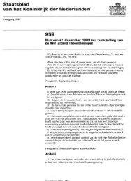 Staatsblad van het Koninkrijk der Nederlanden 959