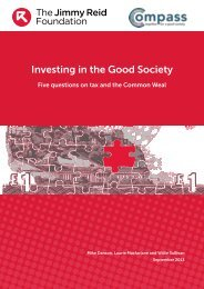 Investing in the Good Society - Social Welfare Portal