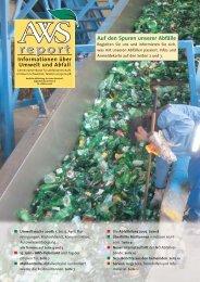 Aws-Report Nr. 1/2008