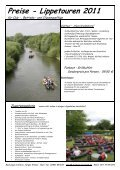 Lippetouren 2011 - FUNBOAT-Touristik - Seite 2