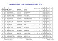 8. Oldtimer Rallye