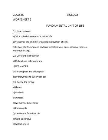 fundamentoals of biology worksheet View homework help - fundamentals of biology worksheet from bio 100 at university of phoenix appendix b bio/100 version 3 associate level material appendix b fundamentals of biology worksheet you.
