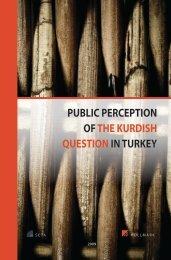 public perception of the kurdish question in turkey - the SETA ...