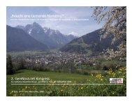 Interkommunale Zusammenarbeit: Lienz : Bruneck 2. GemNova.net ...