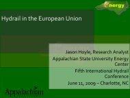 Jason Hoyle - International Hydrail Conference