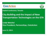 Linda Weichel, VP Partnerships, CivicAction - International Hydrail ...