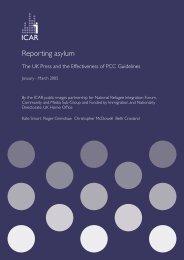 Reporting asylum - Social Welfare Portal