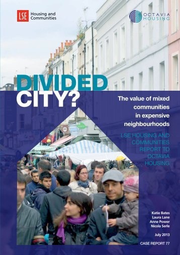 The value of mixed communities in expensive neighbourhoods
