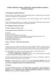 A Polgári eljárásjog I tantárgy teljesítéséhez szükséges dolgozat ...