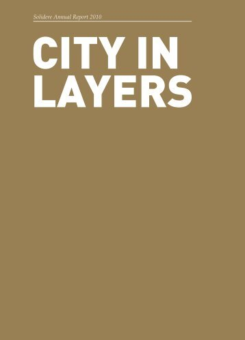 City in Layers - Solidere
