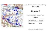 18. Niederrheinischer Radwandertag 05. Juli 2009 Route 6 - Kleve