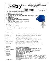 PDF Technical Data sheet
