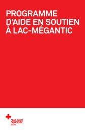 Programme d'aide en soutien à Lac-Mégantic - Croix-Rouge ...
